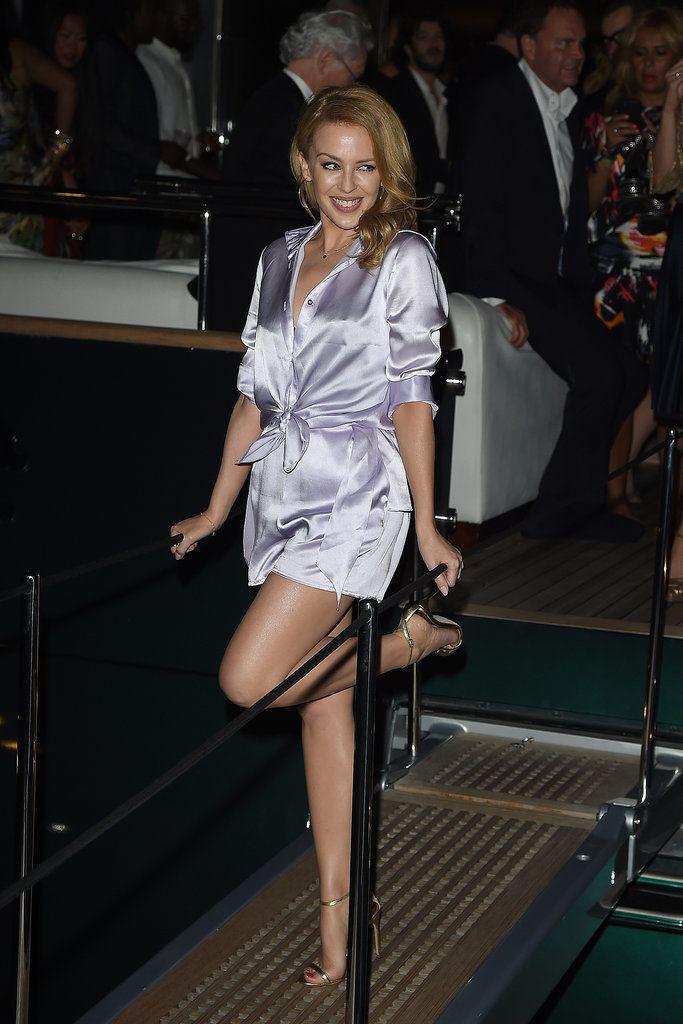 Kylie Minogue at the Annual Roberto Cavalli Party