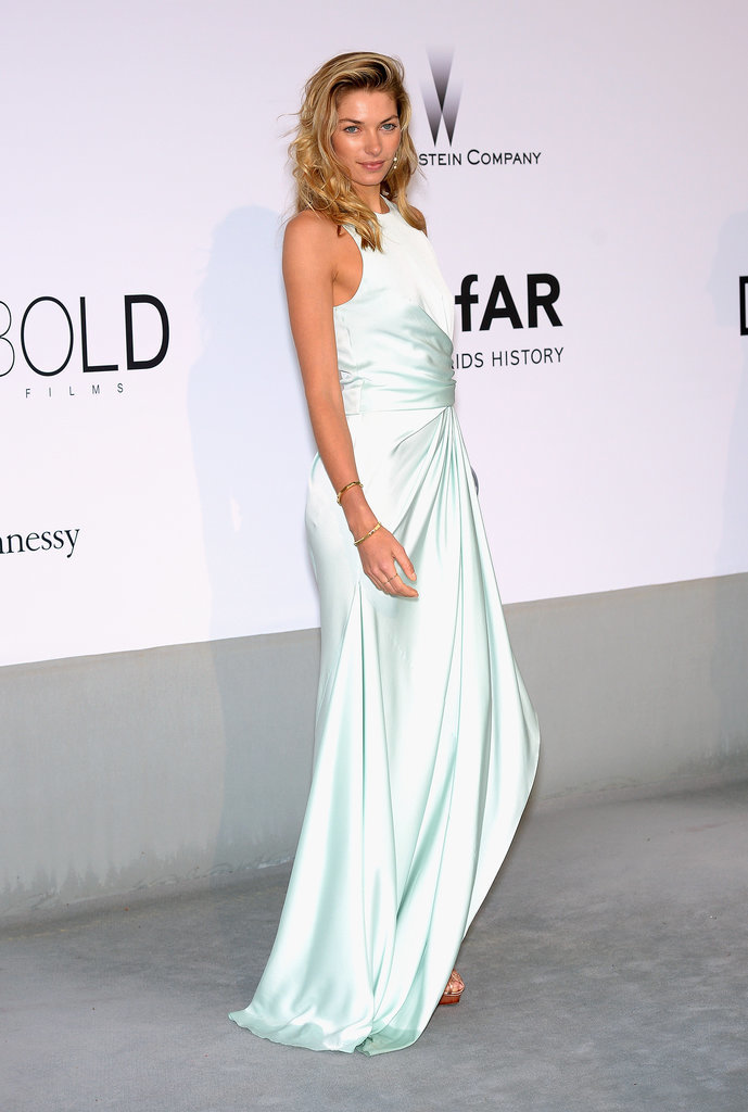 Jessica Hart at the amfAR Cinema Against AIDS Gala