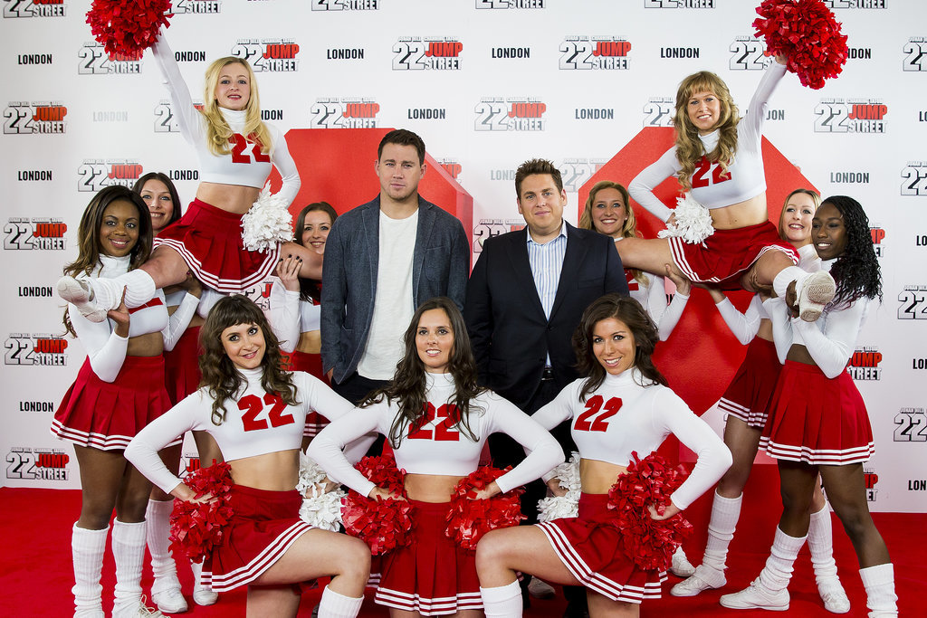 Channing Tatum and Jonah Hill had a fun photocall for 22 Jump Street in London on Thursday.