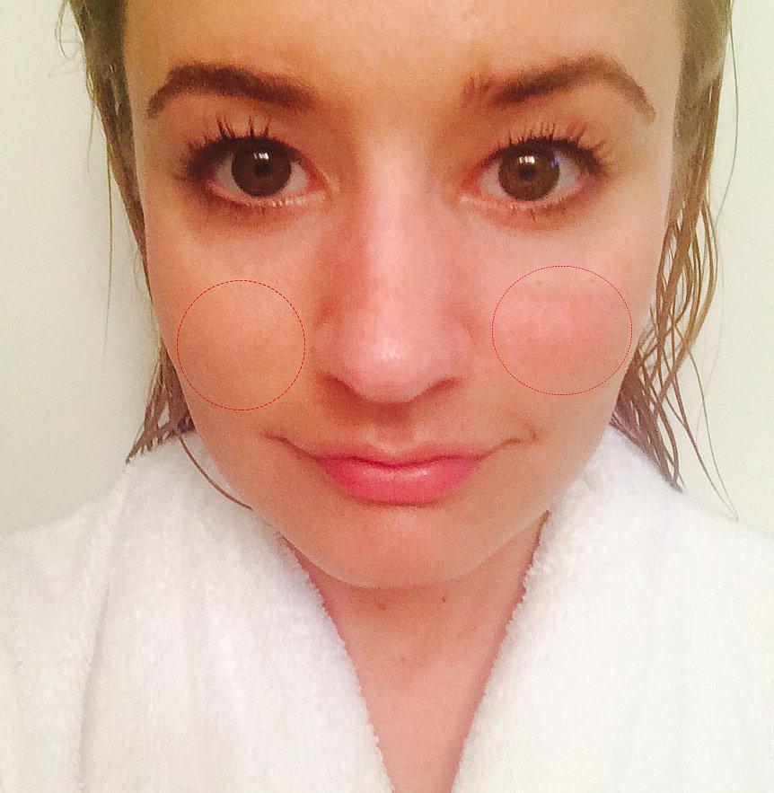 After-shower selfie