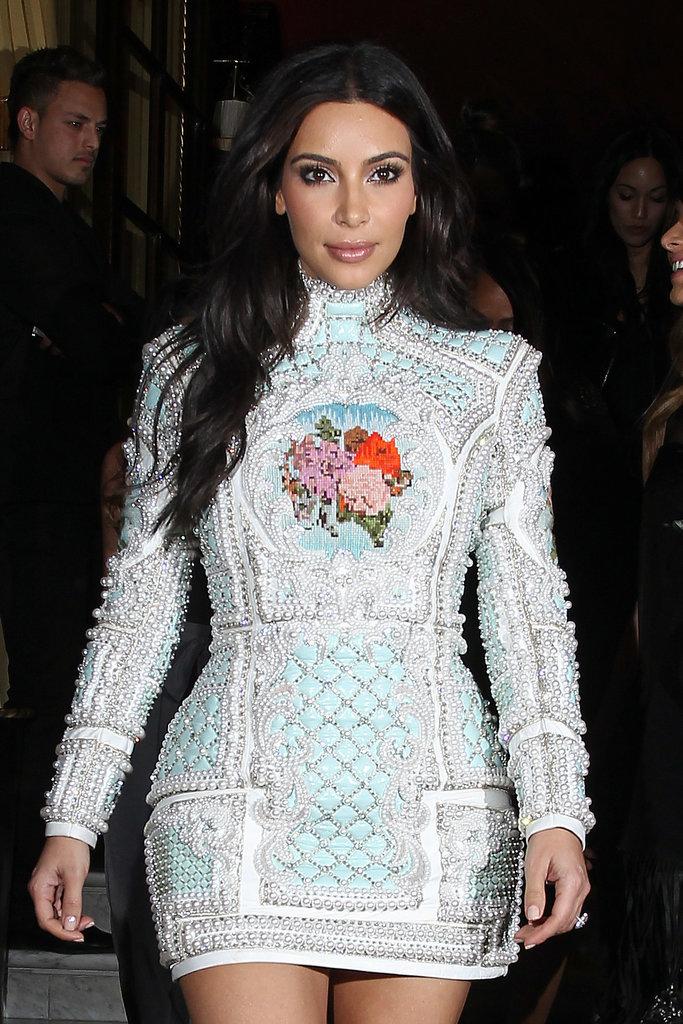 Who's Missing From Kim Kardashian's Big Wedding Party?