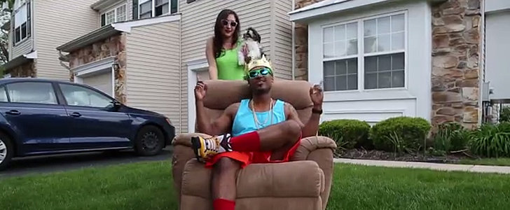 Watch This Couple Channel the Fresh Prince in Their Baby Announcement