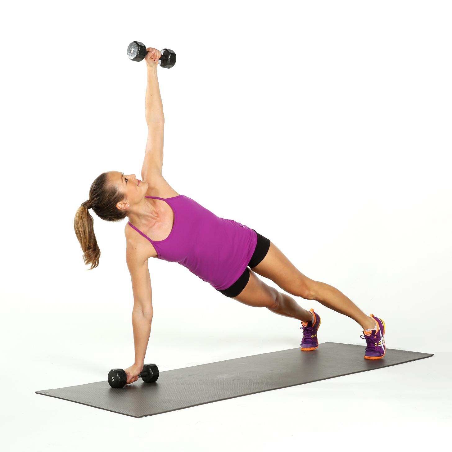 Plank and Rotate