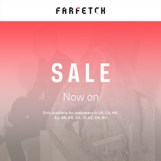 Farfetch designer sale