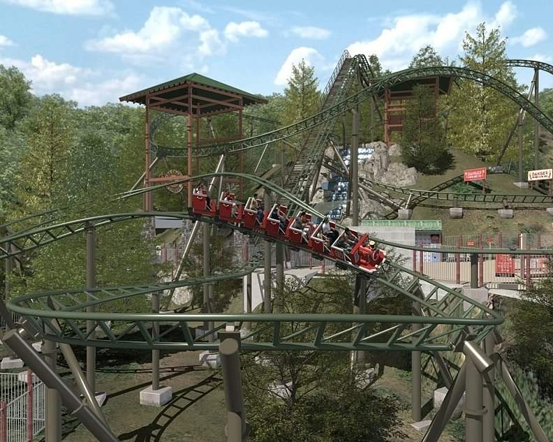 FireChaser Express (Dollywood, Pigeon Forge, TN)