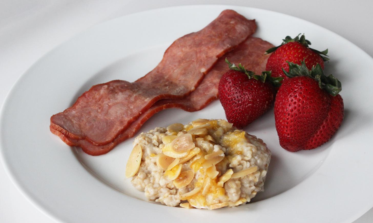 Day Two Breakfast: Winning Combination
