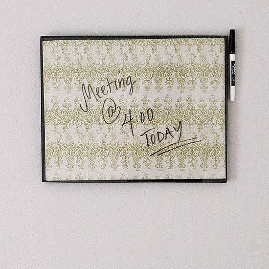 Picture-Frame Dry-Erase Board