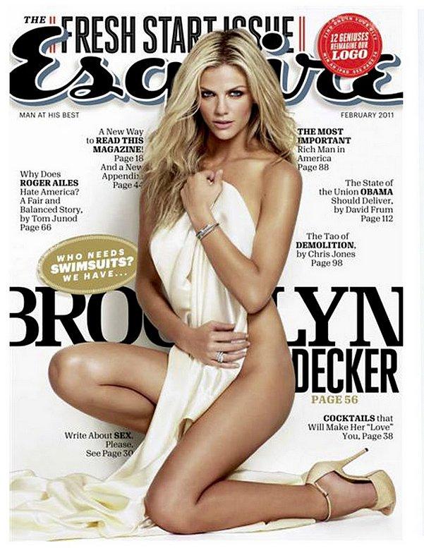 Brooklyn Decker For Esquire, February 2011