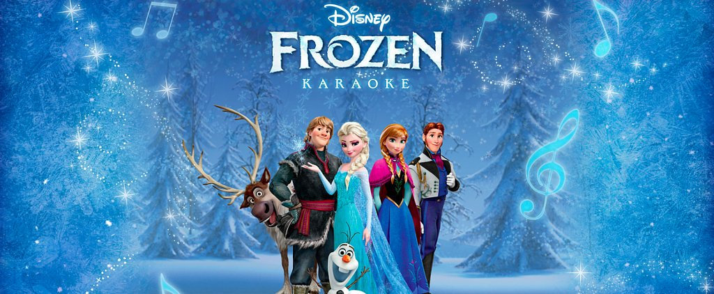 Disney's New Frozen Karaoke App Brings All of the Sing-Along Fun Home
