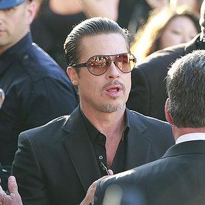 Brad Pitt Attacked by Vitalii Sediuk at Maleficent Premiere