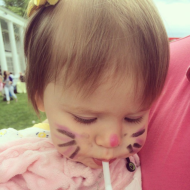 "Mila Hager enjoyed some ""limonade"" over Memorial Day weekend. Source: Instagram user jennabhager"