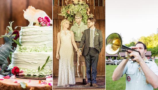 A Very Moonrise Kingdom Summer-Camp Wedding