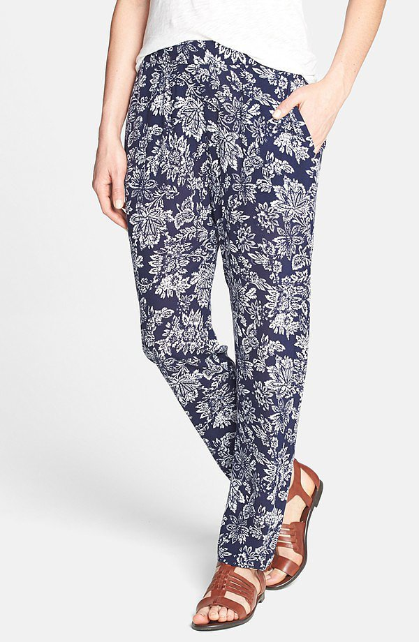 Ace Delivery Floral-Print Pants