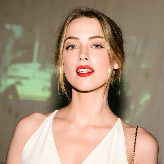 Amber Heard's Red Lipstick Look Screams Sex Appeal