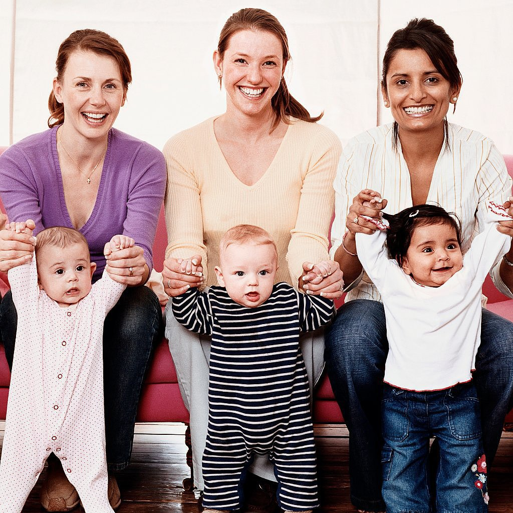 Laugh: Ever been to a new mommy playgroup? Then you'll love the humorous look at the moms you'll meet there!