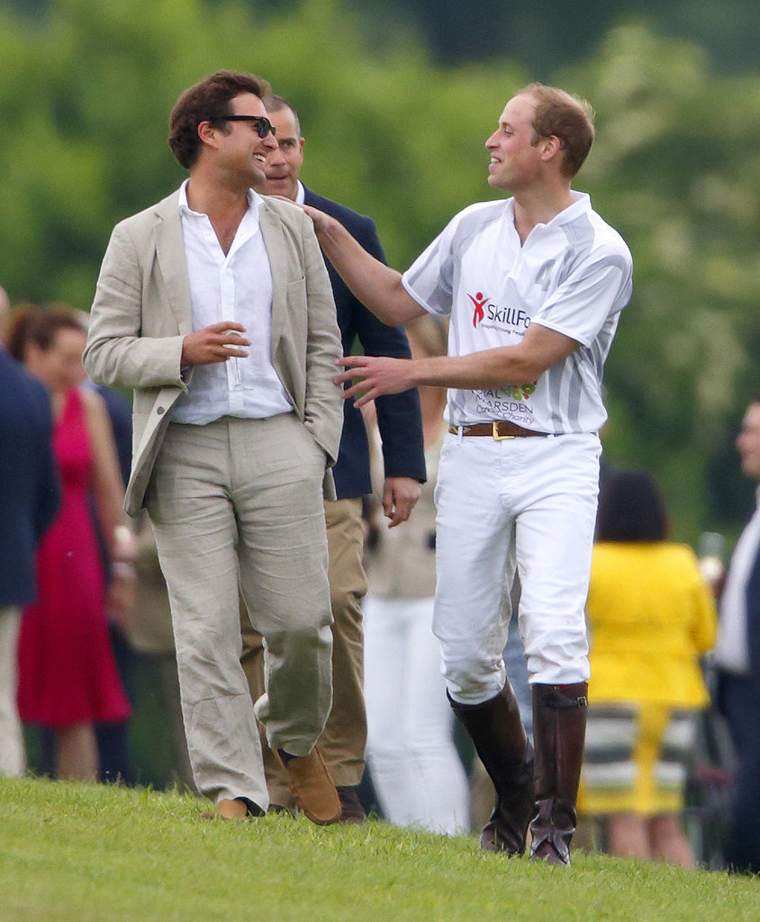 The Royal Brothers Rub Shoulders With Stars at Their Polo Match