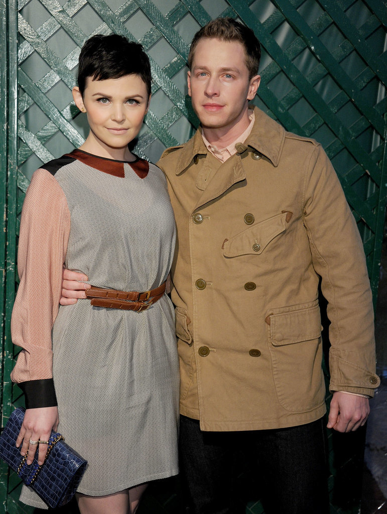 Then waited a few months before they posed together again in 2012.