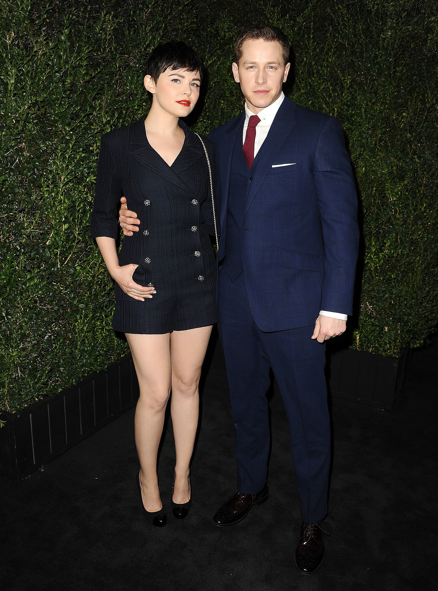 They're one good-looking couple.