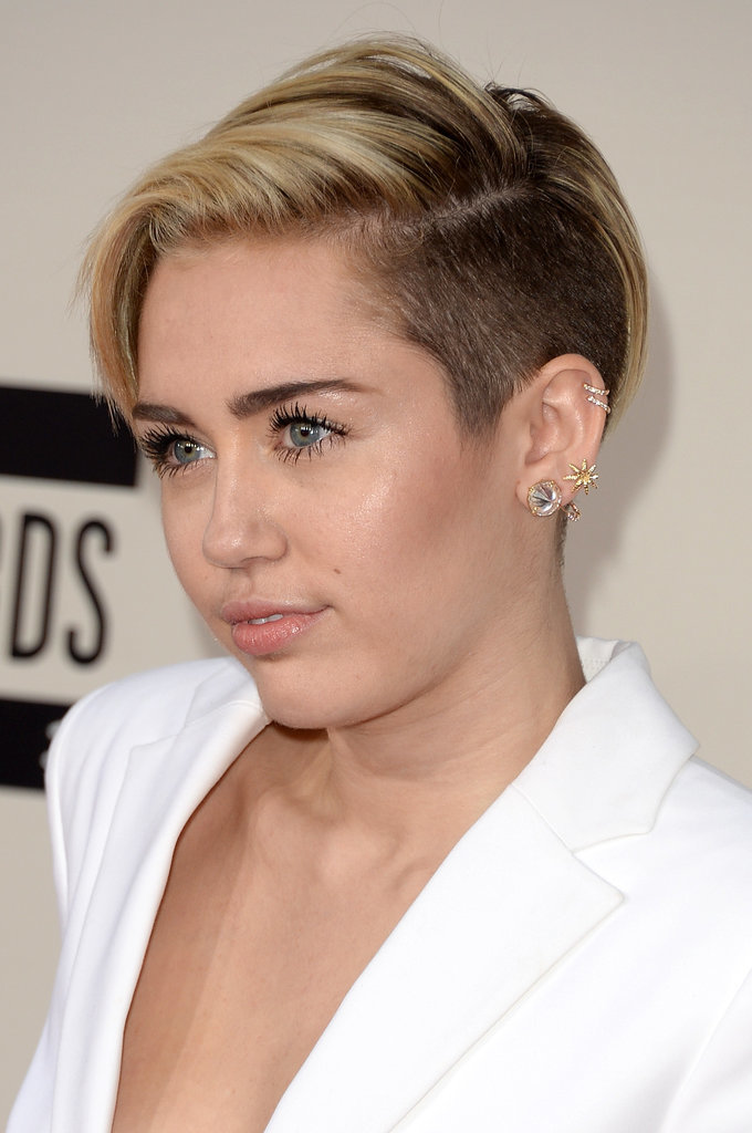 pictures of miley cyrus pixie cut popsugar beauty australia. Black Bedroom Furniture Sets. Home Design Ideas