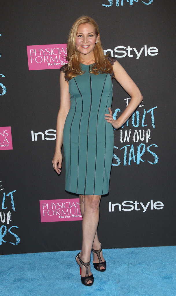 Jennifer Westfeldt looked gorgeous in green.
