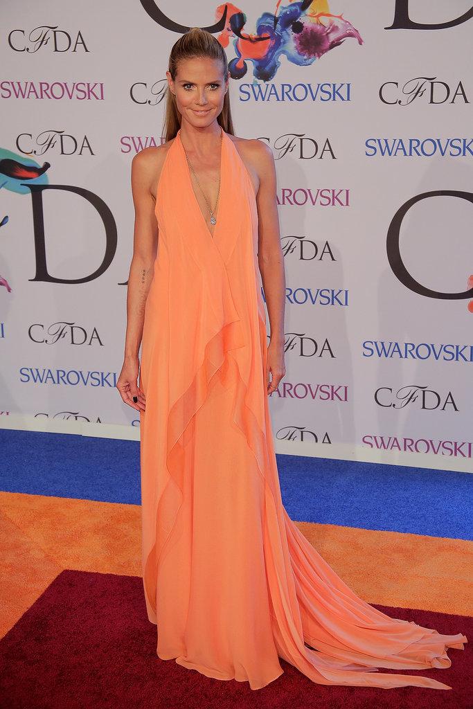 Heidi Klum at the 2014 CFDA Awards