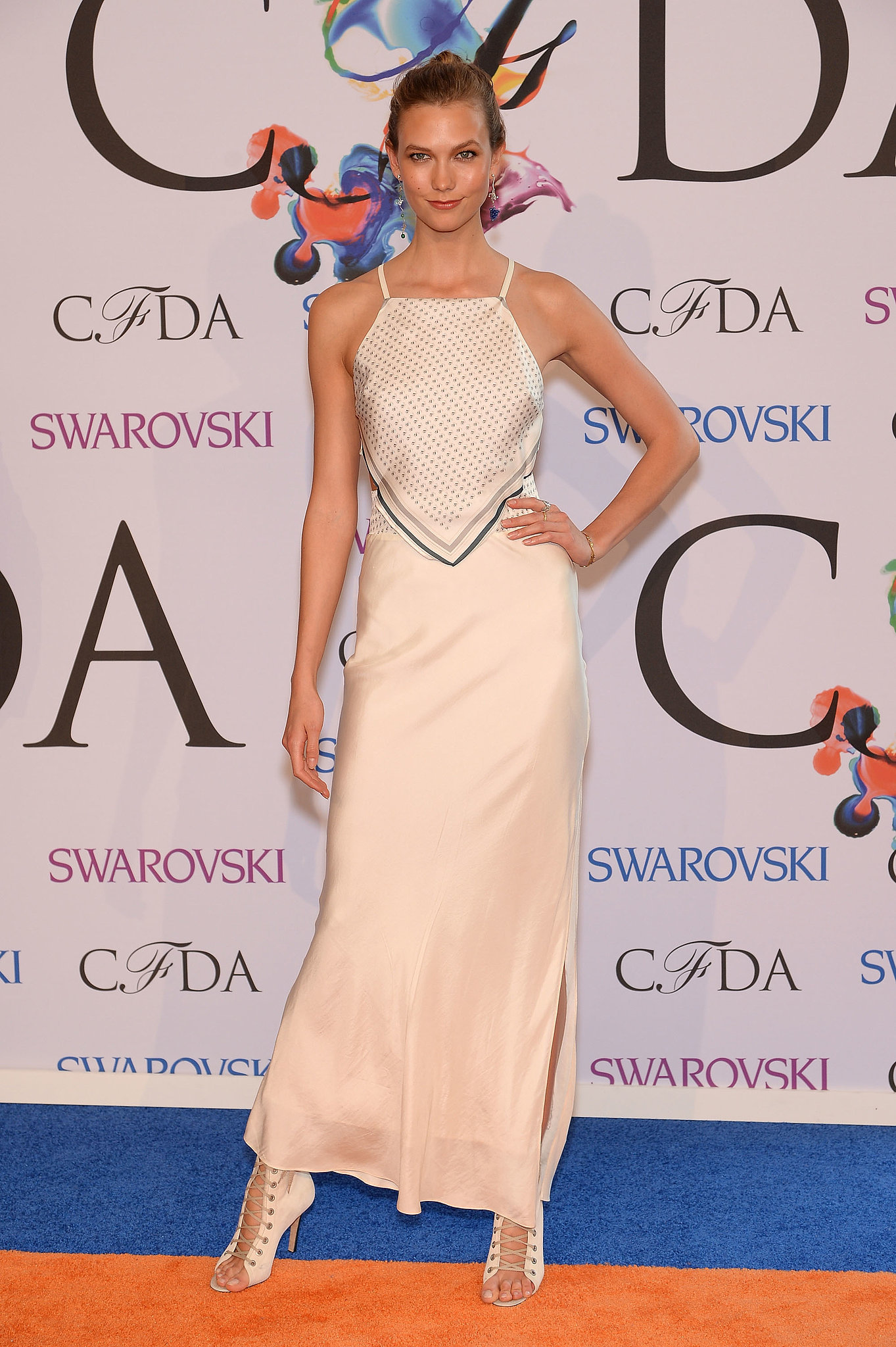 Karlie Kloss at the 2014 CFDA Awards