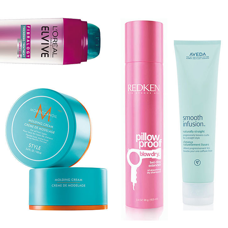 Styling Products For Thick Hair: New Hair Products For Smooth, Thick, Frizz-Free Hair