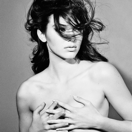 Kendall Jenner Topless in Interview Magazine