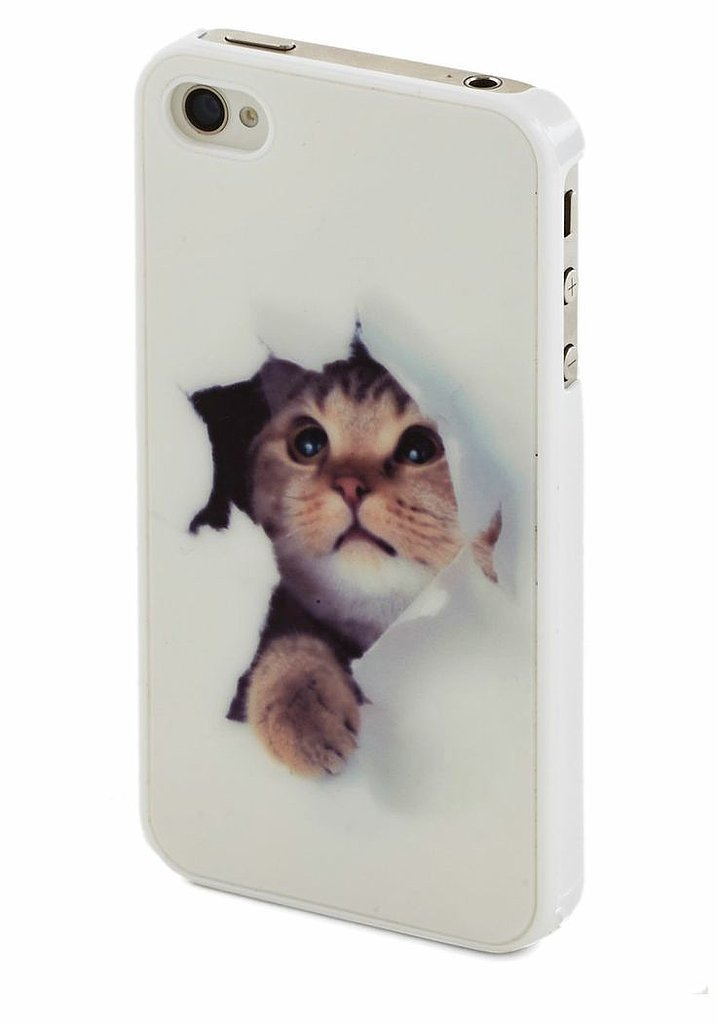We'll call this funny feline case ($15) a tech accessory breakthrough.