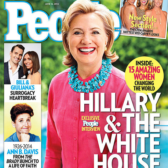 Hillary Clinton in People Magazine June 2014
