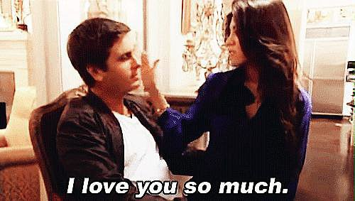 """Scott and Kourtney eventually split once again shortly after Mason was born. Scott sought treatment for his issues with anger and alcohol, and opened up about how he had treated Kourtney """"poorly"""" in the past. The couple eventually got back together after Scott vowed to change his ways. Source: E!"""
