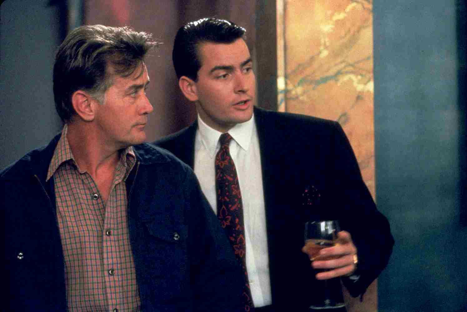 Martin and Charlie Sheen