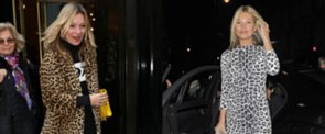See Kate Moss Prove the Power of Leopard Print Today on POPSUGAR Live!