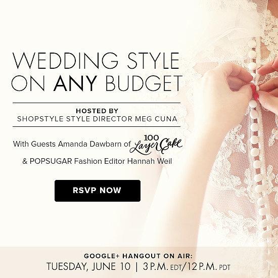 Wedding Style on Any Budget