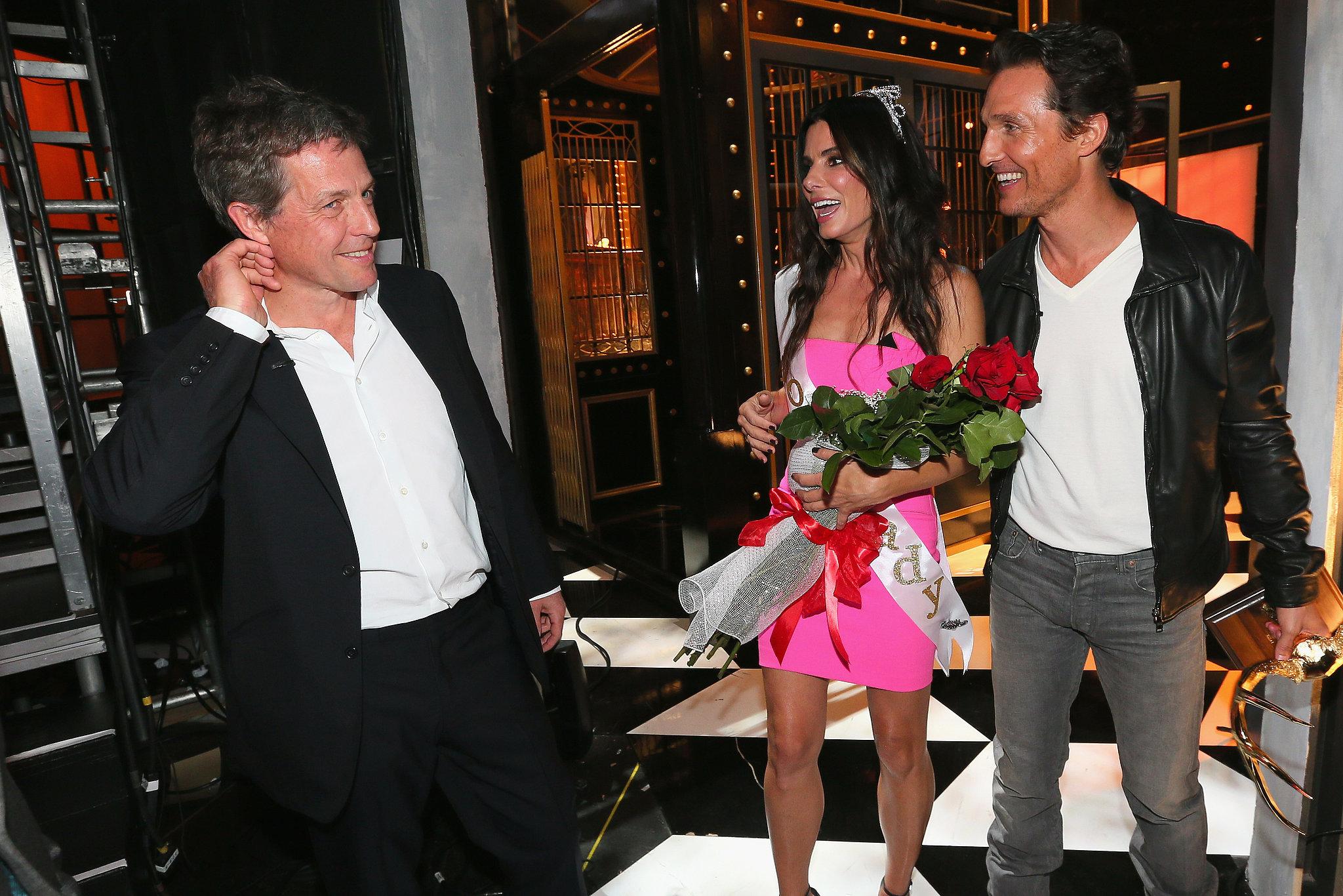 Matthew McConaughey Celebrates His Guy of the Year Win