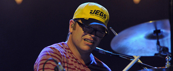 Watch Weezer's Drummer Make a Nearly Impossible Frisbee Catch