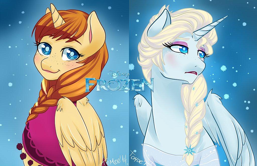 Frozen My Little Ponies