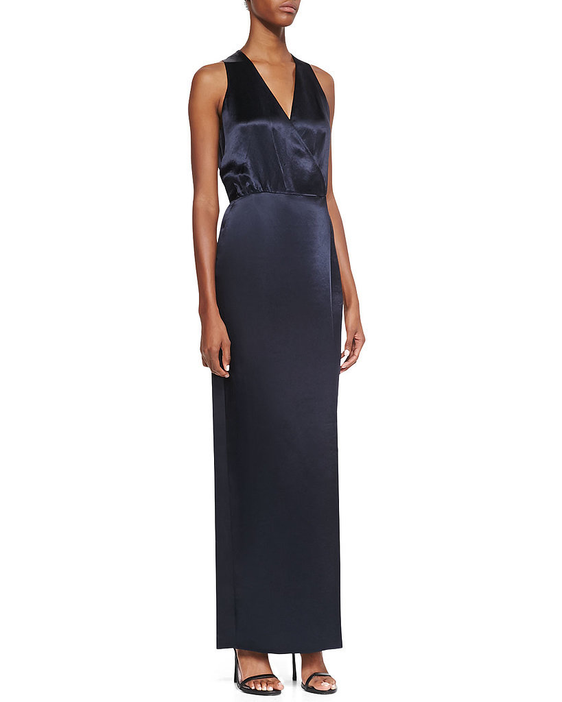 Tibi Faux Wrap Dress