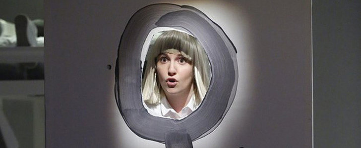 "Lena Dunham and Sia's ""Chandelier"" Performance Is Truly Confusing"