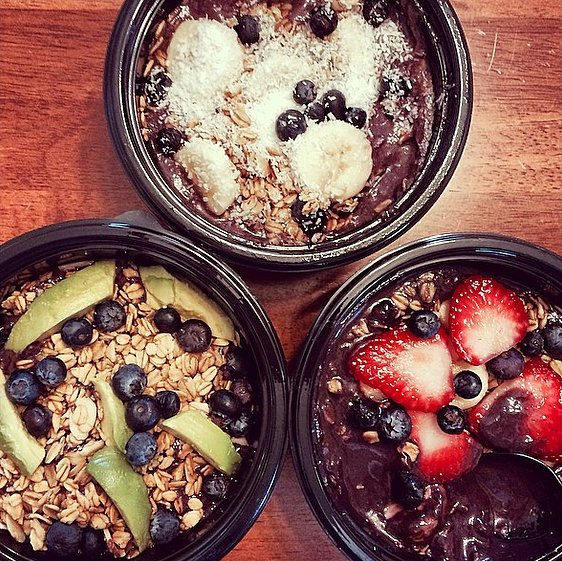 No two acai bowls need to be alike. Experiment with your favorite ingredients and toppings to find a mix that you love.