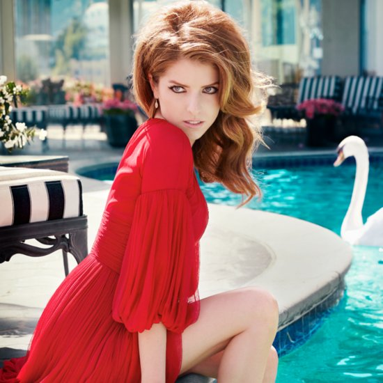Anna Kendrick Pictures in Elle Magazine July 2014