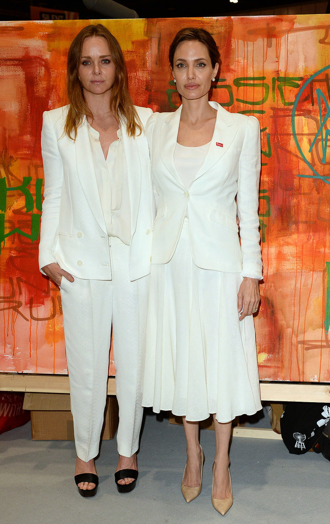 Stella McCartney and Angelina Jolie