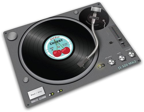 Joseph joseph record player glass chopping board