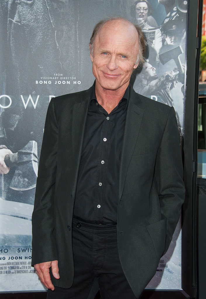 Ed Harris dropped by the film festival.