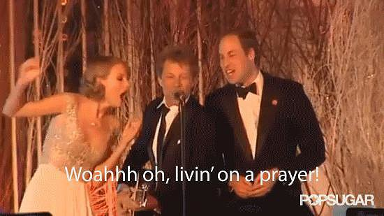 Then He Tried to Jam With Jon Bon Jovi and Taylor Swift