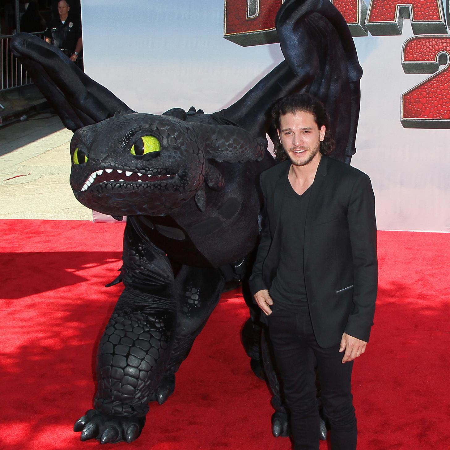 Kit Harington How To Train Your Dragon 2 '