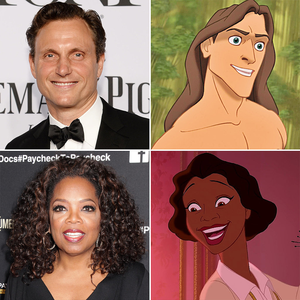 Cartoon Characters Voiced By Celebrities : Celebrities who voiced disney characters popsugar