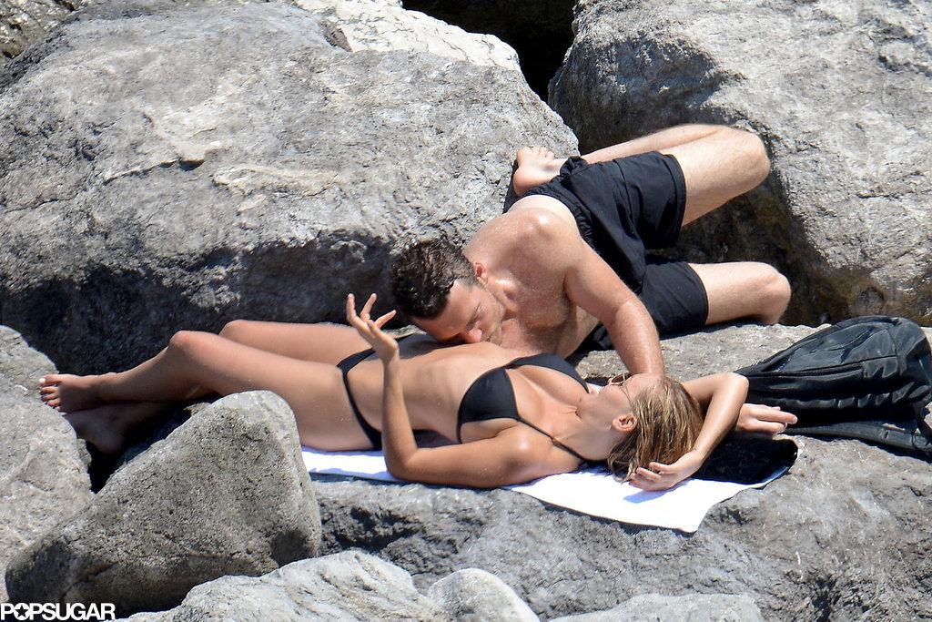 Lara Bingle and Sam Worthington Somehow Make the Beach Even Hotter