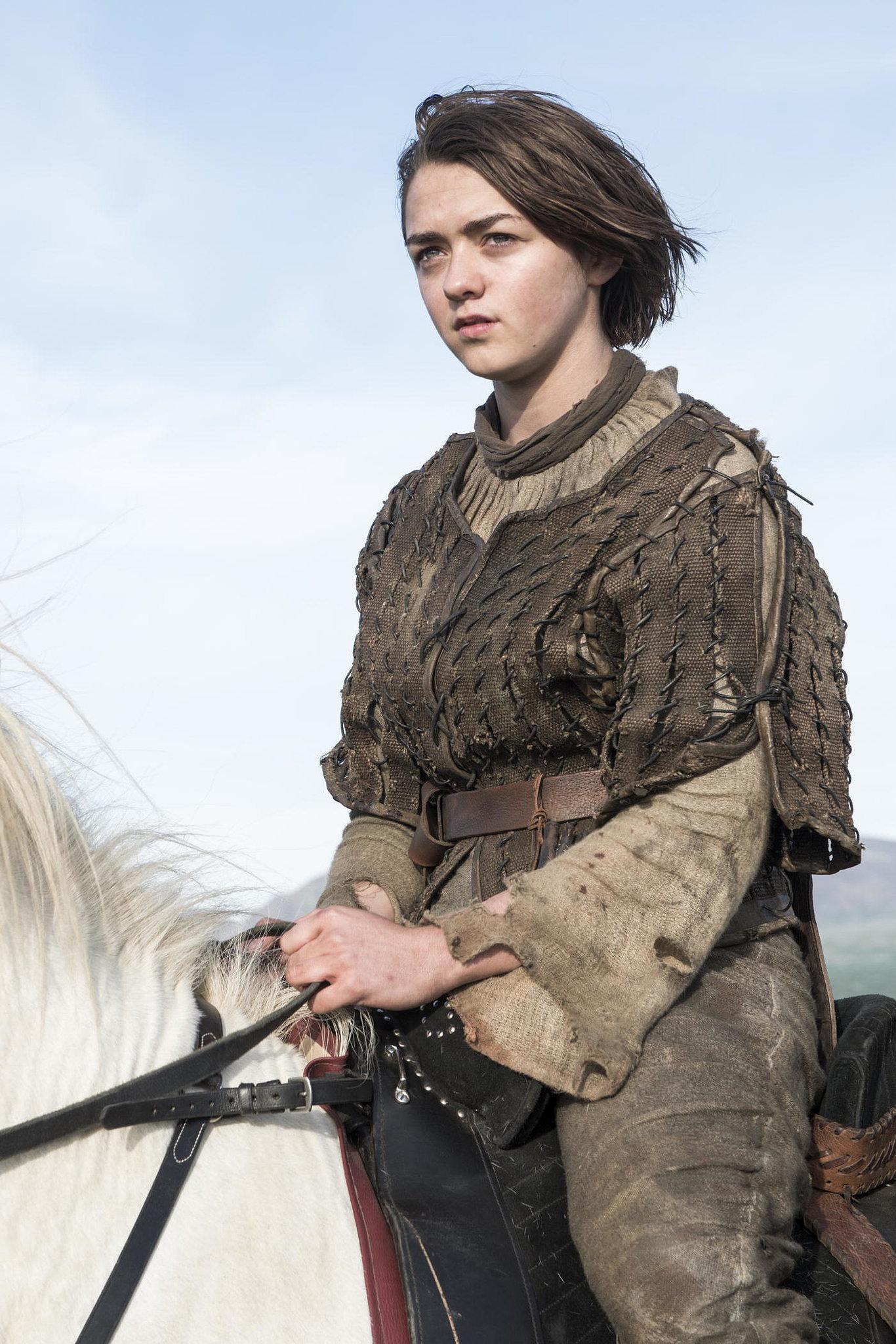 Arya Stark, Season Four