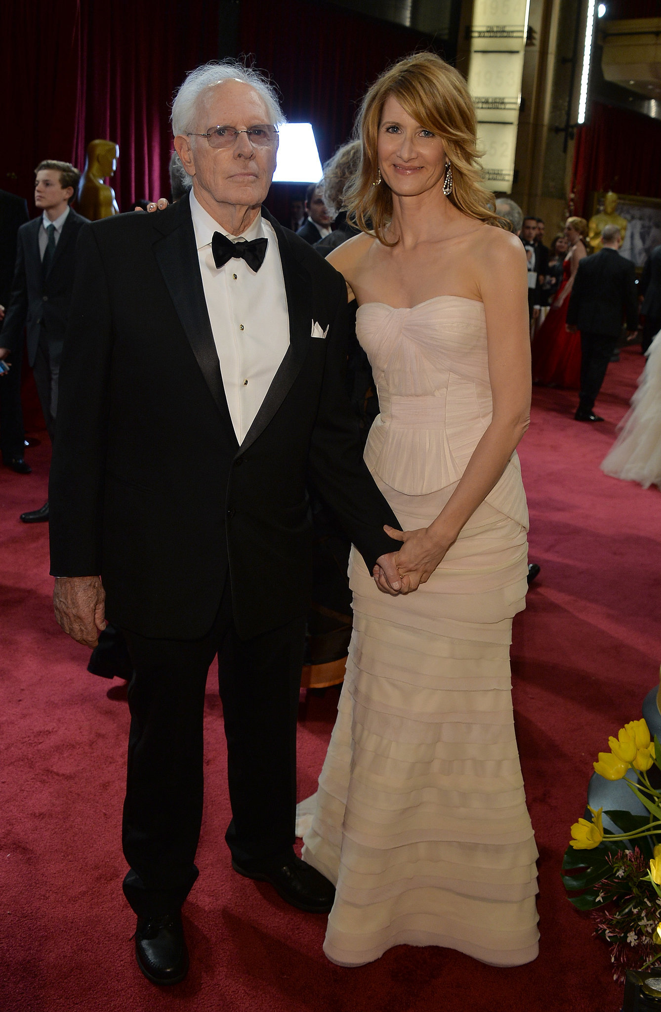 It's Bruce Dern, Nebraska star and one of this year's Oscar nominees.